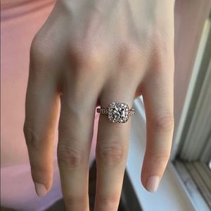 Jewelry - Rose Gold Engagement ring